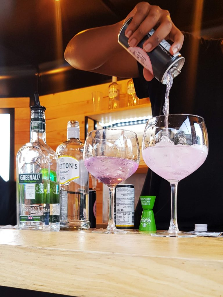 Precious Zondi Fitch Leedes Gin Tonic Festival South African Blog
